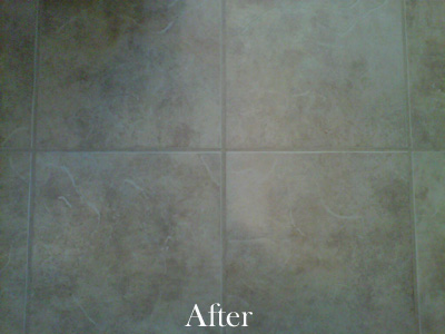 After Tile Cleaning