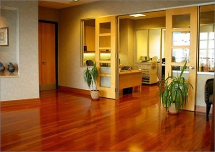 Dark Hardwood Floors
