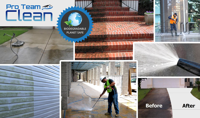Pressure washing Roseville